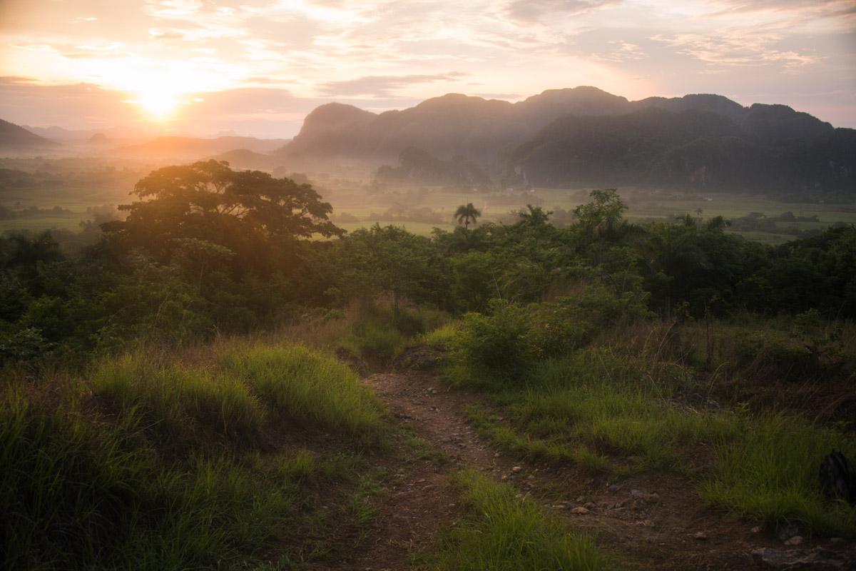 Sunrise Vinales Valley